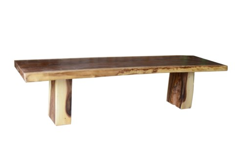 (LS) Patagonia Grand Dining Table. Solid Suar wood. (118x31.5x29.5)