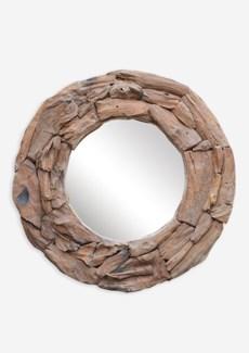(LS) Natura Round mirror (35X4X35)