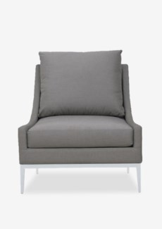 (SP) Archy Chair With Upholstered-Outdoor (29x32x31)