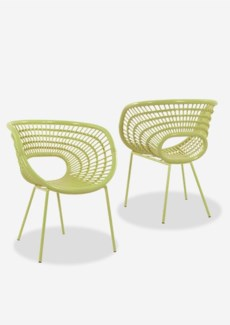 Origin  Chair-Lime Green (27x24x32.5)