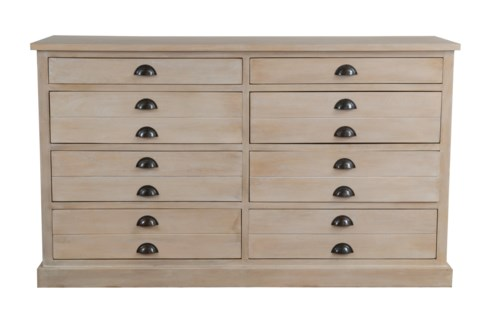 Edward chest of drawers  w/ 8 Drawers