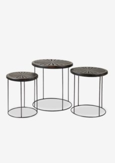 (LS) Geo Round Nesting Side Table ......