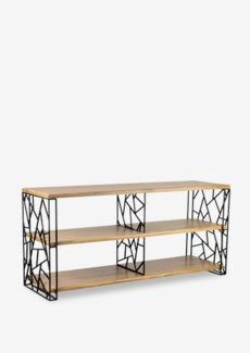(LS) Jerry Sideboard w/ 2 Shelves (59x18x27.5)