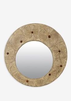 (LS) Clara Round Mirror (39x2x39)