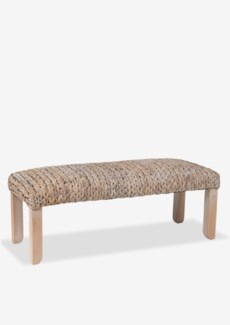 (SP) Natural Woven Bench (48x18x18)
