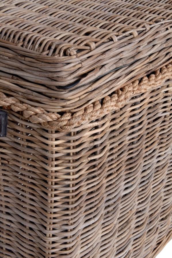 Sabrina Basket Console Set Of 2 W Storage 55x16x30