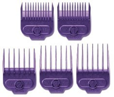 Small Magnetic Purple Guide Combs 5pk
