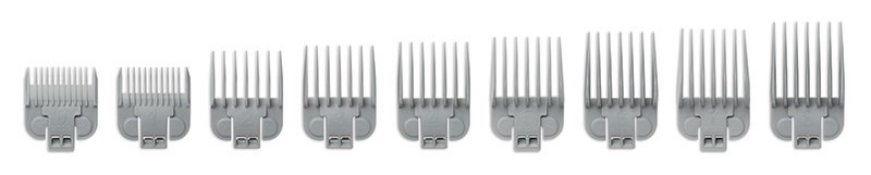 9pc Snap On Comb Guide Set ENVY CLIPPER