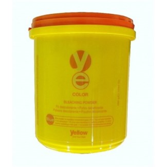! 6xYE BLEACH POWDER VASO 500grams