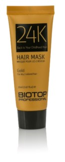 20ml BIO 24K GOLD Hair Mask SAMPLE TUBE