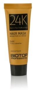 20ml BIO 24K GOLD Hair Mask SAMPLE TUBE