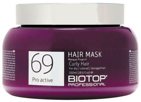 550ml BIO 69 Curly Hair Mask