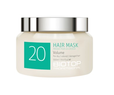 550ml BIO 20 Volume Boost Hair Mask