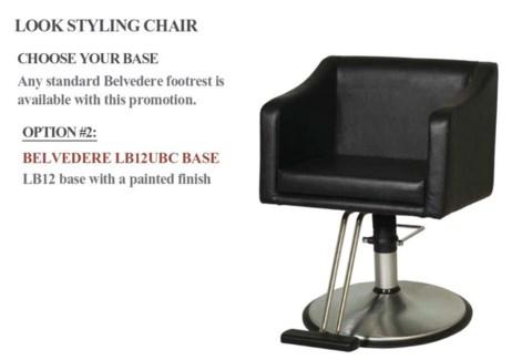 Styling Chair + Base # LB12