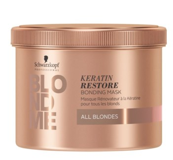 NEW BM KERATIN RESTORE BOND MASK 500ML