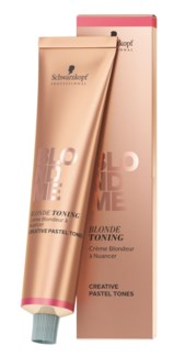 NEW BM BLONDME Toning Carmel Cream 60ml