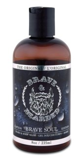 235ML BEARD AND BODY WASH 8oz
