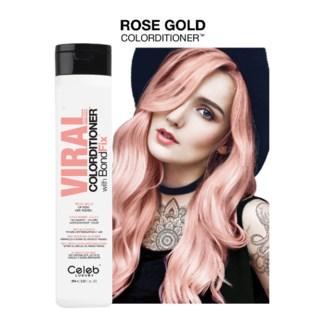 244ml Viral Rose Gold Colorditioner 8.2z