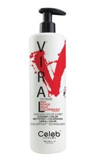 739ml Viral Shampoo Extreme Red