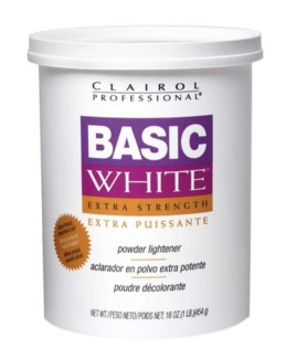 1Lb Basic White Bleach 454G