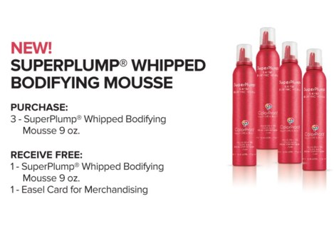 ! 3+1 CP SuperPlump Bodify Mousse 9oz