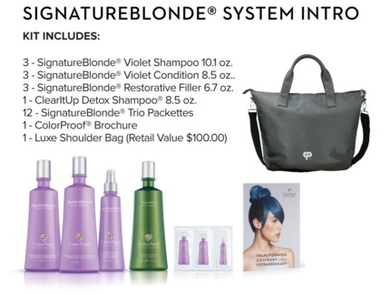 CP SignatureBlonde System Intro MJ18