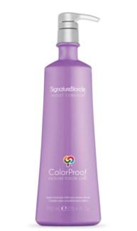 750ml CP SignatureBlonde Violet Cond 25