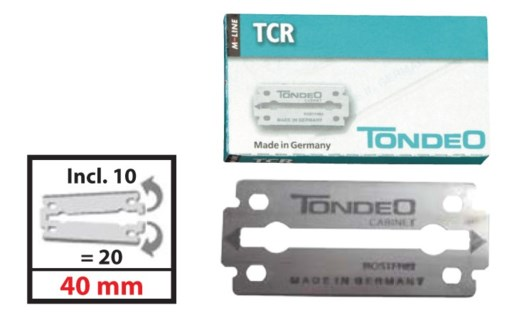 TCR Blades 10pc per Box 1020TCRC