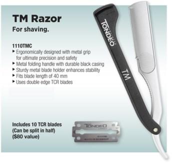 TM Cut/Shave Razor W/10 Blades 1110TMC