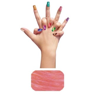 Regular Pearl Peach Nail Art P