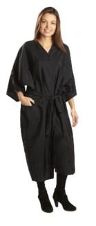 Nylon Kimono Black BES323UCC