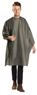 Deluxe Grey Cutting Cape BES360SNGUCC