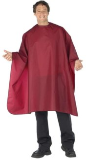 Nylon Cut Cape XL Gray