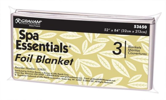 Thermal Foil Blanket 52$84