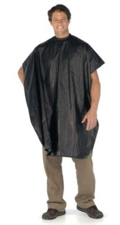 Black Vinyl Cape (1 Pack)