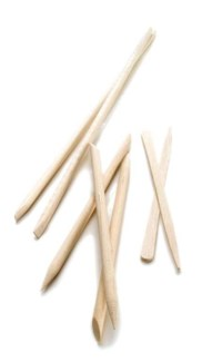 "Birchwood 4"" Manicure Sticks(100/Bag)"