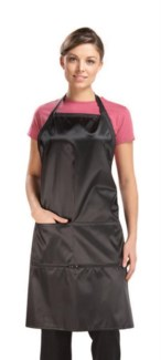 Le Pro Apron W/Zippered Pockets