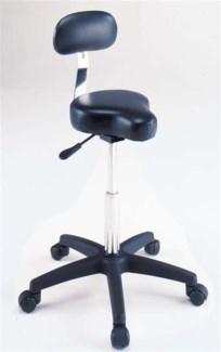Black Bicycle Seat Stool Hydrau