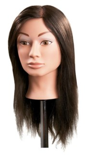 $ Mannequin Synthetic Hair Female 18""