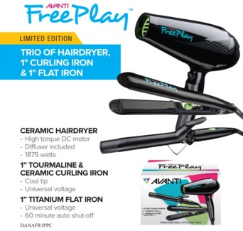Avanti FREE PLAY Styling Trio JF18