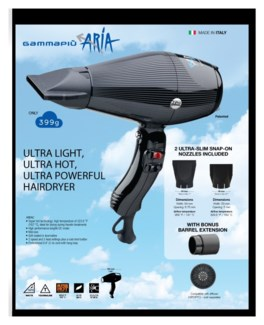 ARIA Hair Dryer GAMMAPIU JF18
