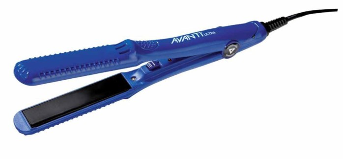 """$ Avanti 5/8"""" Blue Mini Flat Iron"""