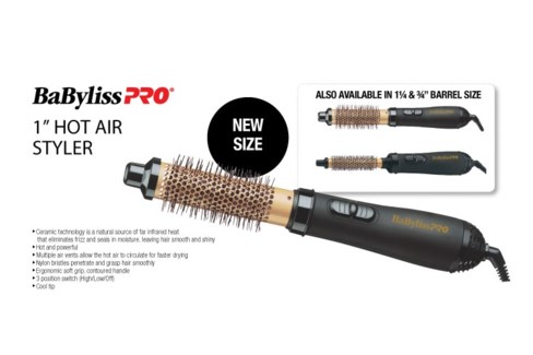 "JULY31 BABYLISS 1"" Hot Air Styler"