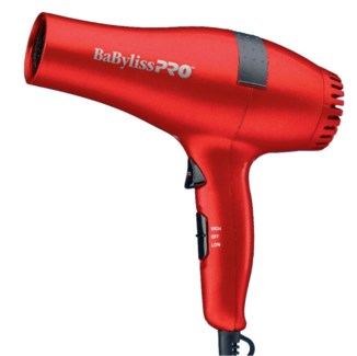 Babyliss Pro Ceramic Hair Dryer RED