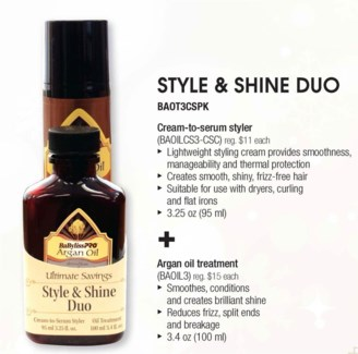 Argan Style & Shine Duo LE SOC13