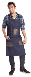 Babyliss Denim Barber Apron