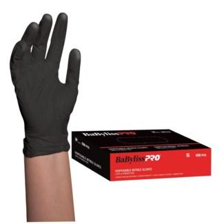 Nitrile Black Gloves 100Box SMALL