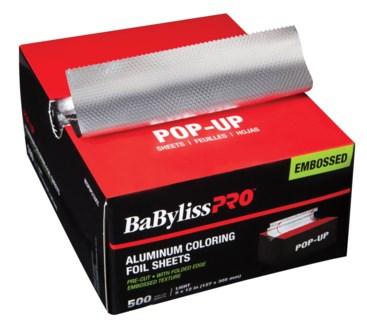 Silver Light Foil 5x12 500sh POPUP EMBOS