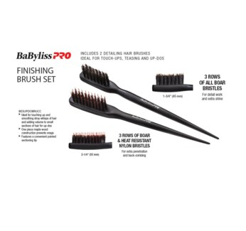 BABYLISS Finishing Brush Set JF18