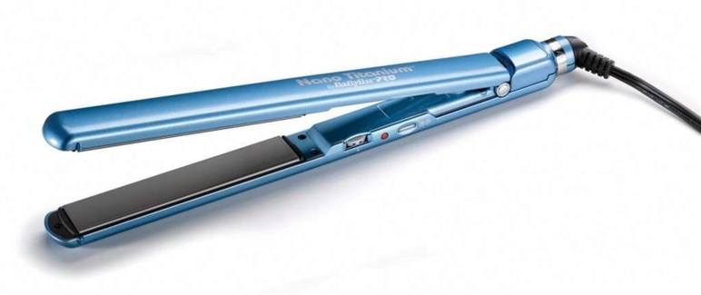 "Babyliss Blue 1""Ultra Slim Flat Iron"